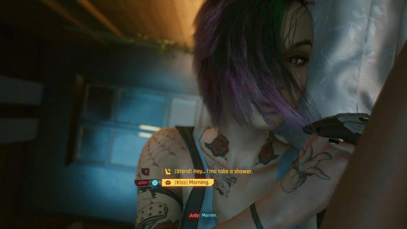 Как начать отношения с Джуди в Cyberpunk 2077