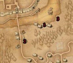 Ведьмак прохождение Глава1: Странники в Ночи - карта
